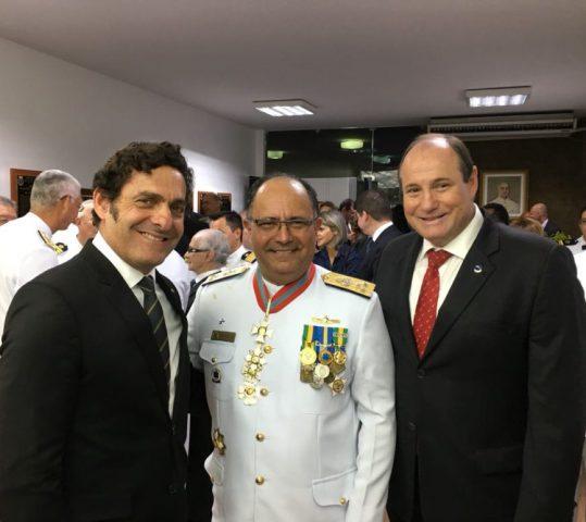 Praticagem enaltece Lima Filho e a chegada do Almirante Roberto na DPC
